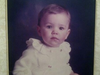 Mark Wright as a little boy