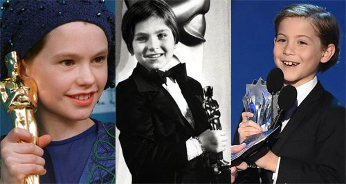 Youngest acting award winners