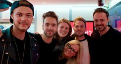 Jamie and Emma with Lawson