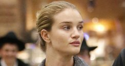 Rosie Huntington-Whitley without makeup