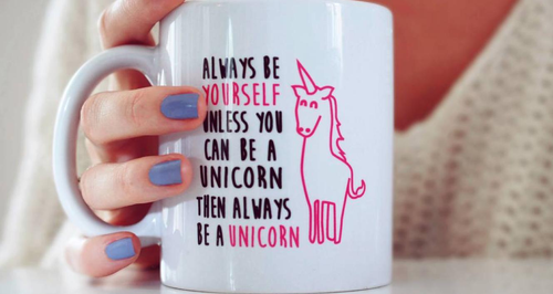 unicorn mug instagram