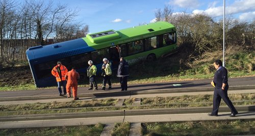Guided Busway Crash