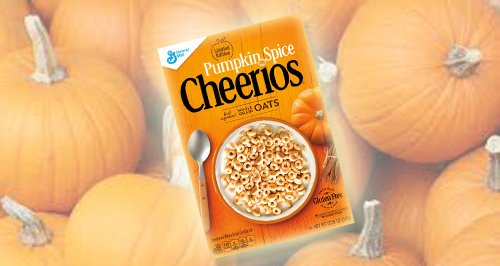 Pumpkin Cheerios