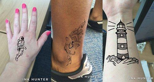Tattoo canvas