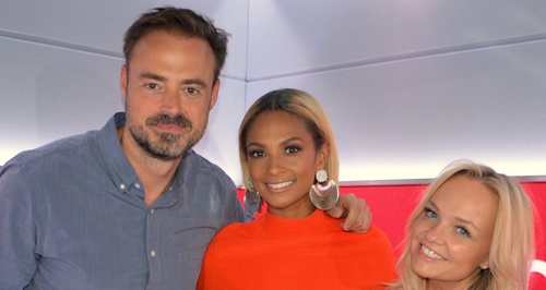Alesha Dixon With Jamie And Emma