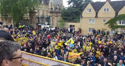 Oxford United Parade 2016 View From The Bus