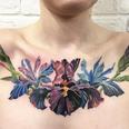 Rit Kit Plant Transfer Flowers Tattoo