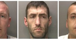 Coventry gang members Anthony Collier, Darren Irwi