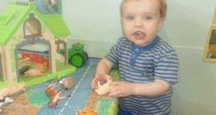 Liam Fee at nursery