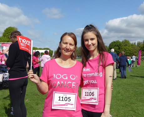 Walsall 5K Race For Life - Before!
