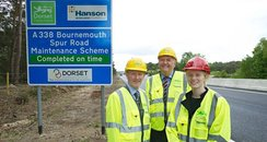 A338 Bournemouth Spur Road works complete