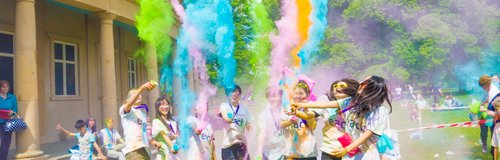 EACH Colour Dash Norwich 2016