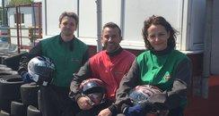 Red Lodge Karting- Dave, Heidi & Nick