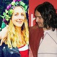 Russell Brand and Laura Gallacher engaged