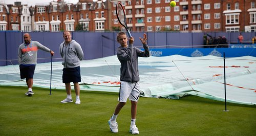 Romeo Beckham Queen's tennis club