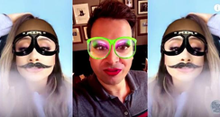 Snapchat video Jimmy Kimmel and Ariana Grande