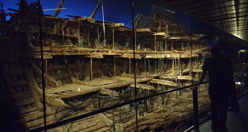 Mary Rose unveiled Portsmouth