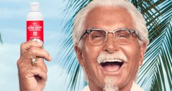 KFC Fried Chicken Scented Suncream