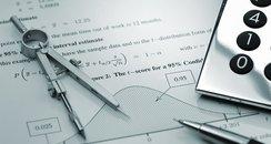 Maths Quiz Stock Image