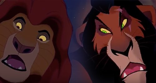 scar and mufasa