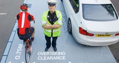 Close Pass Cyclists West Midlands Police