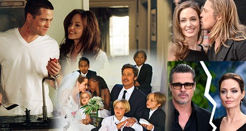 Brangelina Love Story Canvas