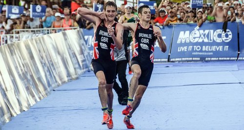 Brownlee brothers World Traithlon Series