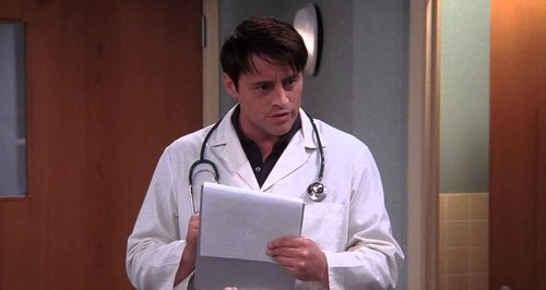 Joey Friends doctor