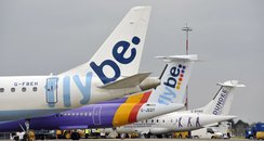 Flybe at Norwich Airport