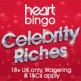 Celebrity riches_heart bingo