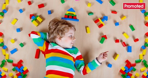 Child playing games promoted tab