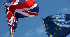 Brexit European Flag Union Jack