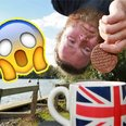 Bungee Jump tea and biscuits Simon Berry PA Images