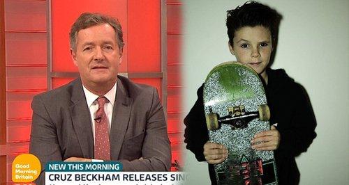 Cruz Beckham's Manager Brands Piers Morgan A Bully