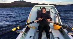 Elaine Hopley, solo ocean rower