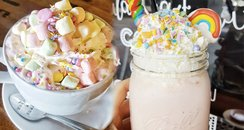 Unicorn Hot Chocolate Is The Most Magical Drink We