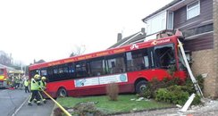 High Wycombe Bus Crash House