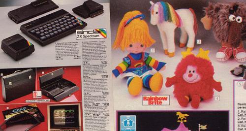 Retro Argos Catalogue 1985 canvas