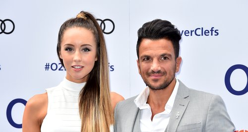 Peter Andre and Emily MacDonagh o2
