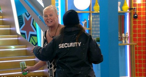Kim Woodburn is removed from Celebrity Big Brother