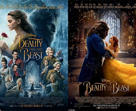 new beauty and the beast posters have been released