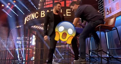 Peter Andre And Gino D'Acampo's Bromance Is Too Mu