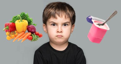 Angry Child Vegetable Yoghurts