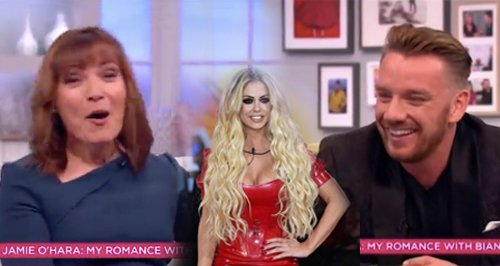 Bianca Gascoigne and Jamie O'Hara Canvas