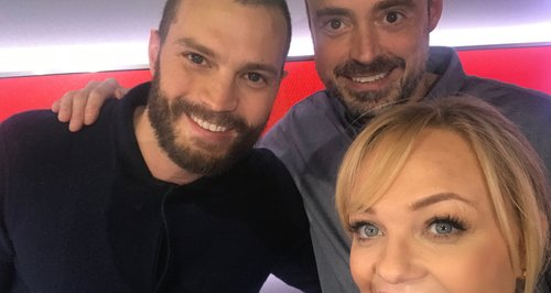 Jamie Dornan With Jamie And Emma
