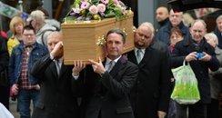 Gorden Kaye Funeral Allo Allo