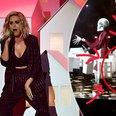 CRINGE! Awkward Moment Katy Perry's Dancer FALLS O
