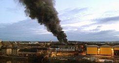 Glasgow fire Govan Ibrox