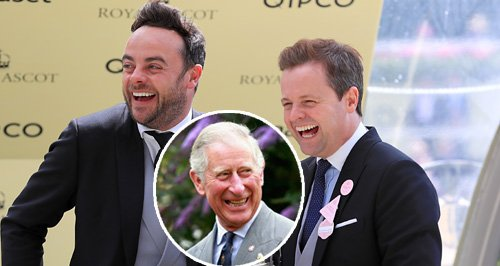 Ant and Dec Prince Charles Blunder Canvas