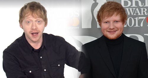 Rupert Grint Performs Dramatic Reading Of Ed Sheer